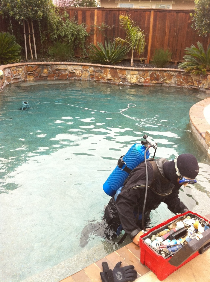 A POOL STRUCTURAL INSPECTION